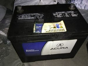Acura brand vehicle battery / weak / dead for parts / repair for Sale in Queens, NY