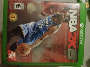 NBA 2K15 for Xbox One for Sale in Rancho Cucamonga, CA