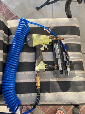 DEWALT NAIL GUN AND HOSE for Sale in Mission Viejo, CA