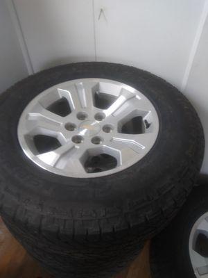 18 Wheels and Tires Silverado for Sale in Center Line, MI