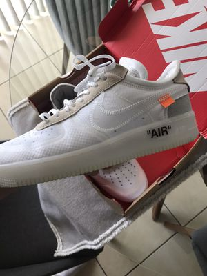 Nike off white af1 for Sale in Miami, FL