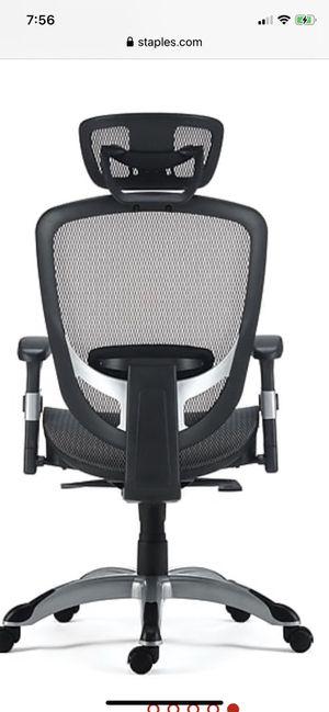 Staples Hyken Mesh Task Chair, for Sale in San Dimas, CA