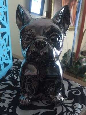 """Chihuahua Silver penny bank 9"""" for Sale in Stone Mountain, GA"""