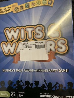 Wits & Wagers family board game (brand new sealed) for Sale in San Antonio, TX