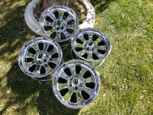 XD Series 20x10 CHROME RIMS for Sale in Las Vegas, NV
