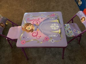 Kids table and chairs for Sale in La Mesa, CA