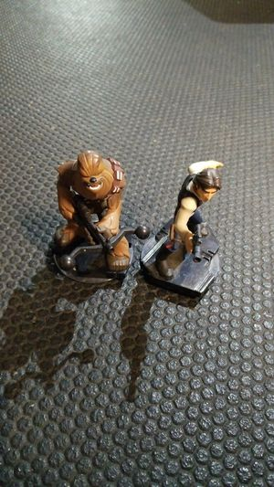 Han and Chewbacca Disney Infinity for Sale in Enfield, CT