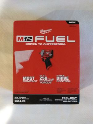 Milwaukee fuel m12 stubby 3/8 in for Sale in Santa Ana, CA