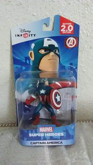 Disney Infinity 2.0 edition Captain America for Sale in Fresno, CA