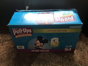 Huggies Pull Ups 2t-3t for Sale in Las Cruces, NM