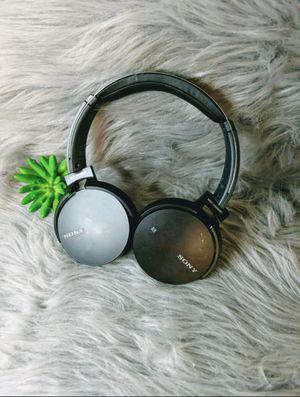 Sony bluetooth wireless over-ear headphones with mic retails $69 for Sale in Price, UT