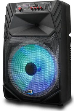 "Portable Bluetooth Speaker Party Sound 15"" Parlante Inalámbrico Bocina DOLPHIN SP-15BTR for Sale in Doral,  FL"