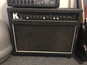 Kustom III Lead SC 2x12 amp for Sale in Chico, CA