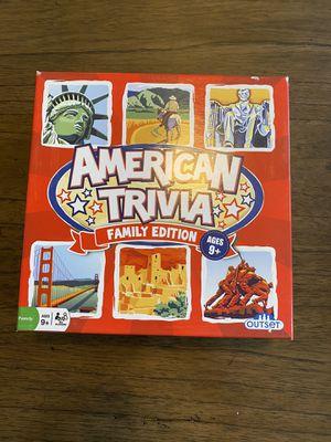 American Trivia Board Game for Sale in Ashburn, VA