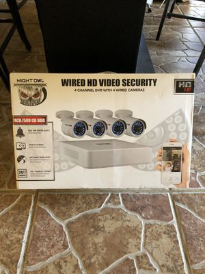 NightOwl WMBF-445-720-B 4-Channel Security System for Sale in Boiling Springs, SC