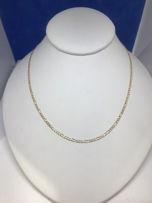 """Awesome 14k Gold Figaro Link Chain 24"""" for Sale in Oak Brook, IL"""