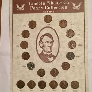 Lincoln Penny Collection for Sale in Laurel, MD