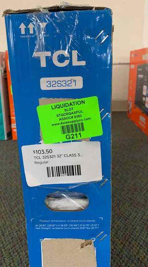 """Brand New TCL ROKU 32"""" Smart Tv! Open box w/ warranty 21N3 for Sale in Dallas, TX"""