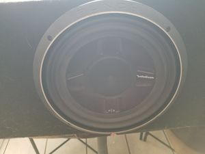 """12"""" subwoofer in box for Sale in Largo, FL"""