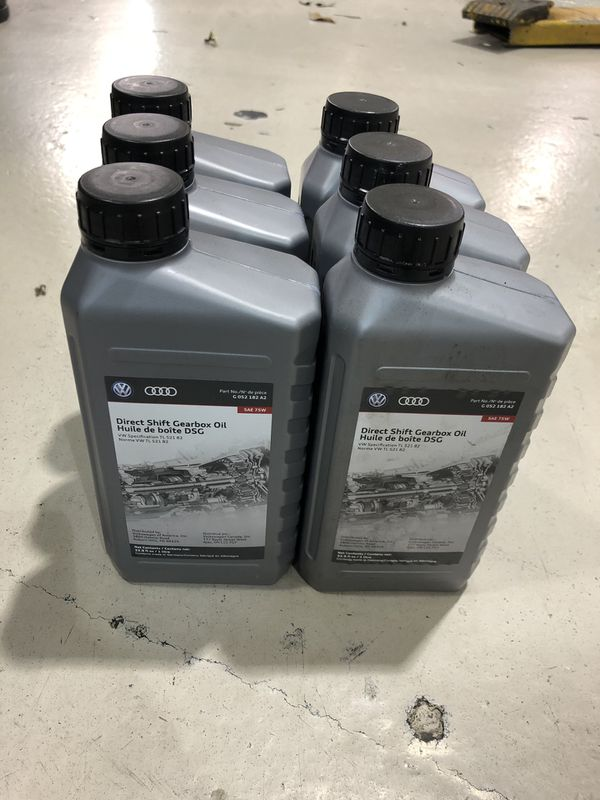 Audi/Vw dsg trans fluid new