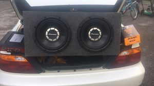 I have a 760 amp 1500 watt setup pioneer sub for Sale in White Hall, WV