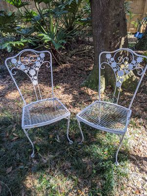 Early 20th Century Antique Wrought Iron Furniture for Sale in Lutz, FL