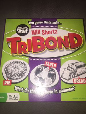 Tribond game like new for Sale in Clearwater, FL