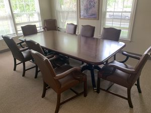 Office or dining room table!! for Sale in Manassas, VA