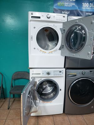 Kenmore Washer and Dryer White for Sale in Los Angeles, CA