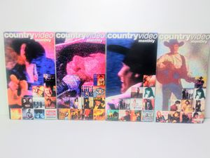 Country Video Monthly VHS Tapes for Sale in Dallas, TX