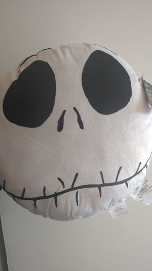 Nightmare before Christmas Jack skellington pillow for Sale in Phoenix, AZ