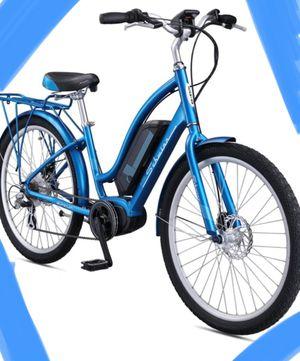 "New !! Bike, electric bike, 7 speeds 26"" wheels unisex electric bike, bicycle , blue for Sale in Phoenix, AZ"