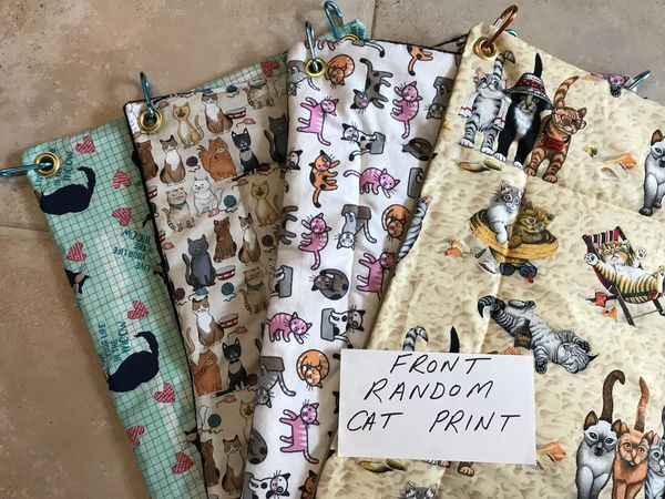 Dog or cat pads for Crate or strollers - custom made pads for floor of crate