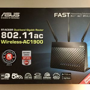 ASUS RT-AC68R 802.11ac wireless router for Sale in Covington, KY