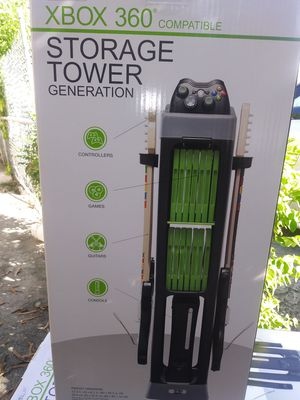 Storage tower Xbox 360 to storage your games and your remote controls systems for Sale in Miami, FL