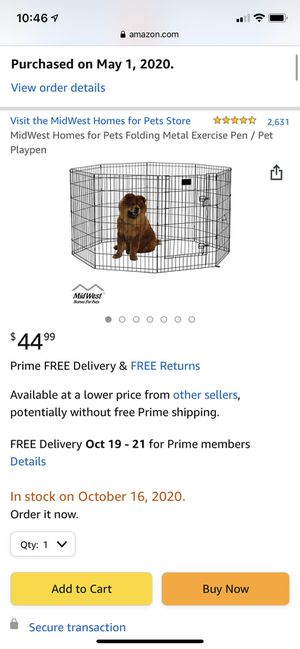 Midwest Dog exercise pen for Sale in Norman, OK