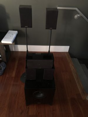 Energy Take Classic 5.1 Speakers with Stands for Sale in Santa Monica, CA