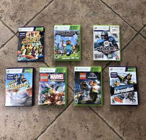 Xbox 360 Games 7 Games READ DESCRIPTION for Sale in SHENDOAH JCT, WV