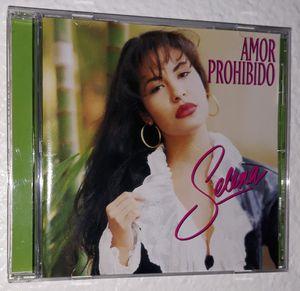 CD Amor Prohibido by Selena (1994) for Sale in Dallas, TX