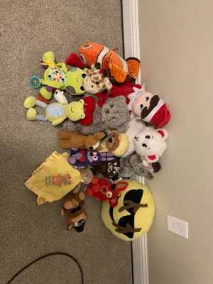 Plush stuffed animals for Sale in Mesquite, TX