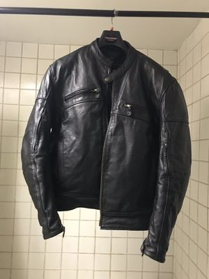 Xelement Advanced Motorcycle Gear Leather Jacket - New Condition for Sale in Mountlake Terrace, WA