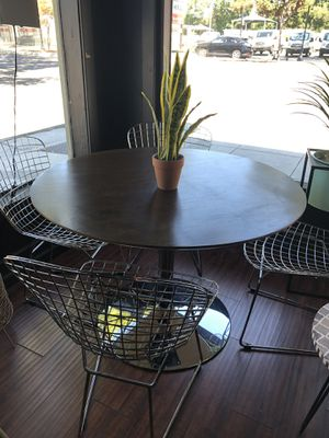 Mid Century dining table & chairs for Sale in San Jose, CA