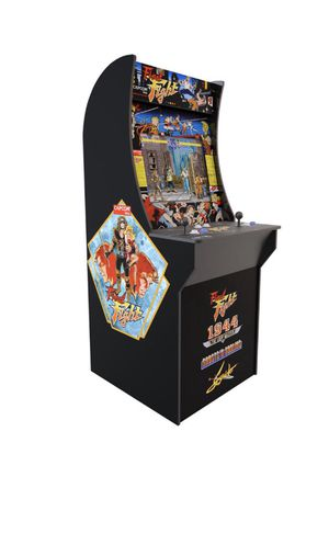 NEW IN BOX Final Fight Arcade1up Arcade 4 Games 1944 ghost'n goblins strider for Sale in Fresno, CA