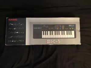 Casio SK1 Vintage Sampling Keyboard for Sale in Virginia Beach, VA