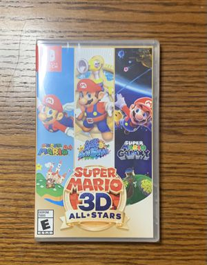 SUPER MARIO 3D ALL STARS for Nintendo Switch! Brand new! Limited edition!! for Sale in Upland, CA