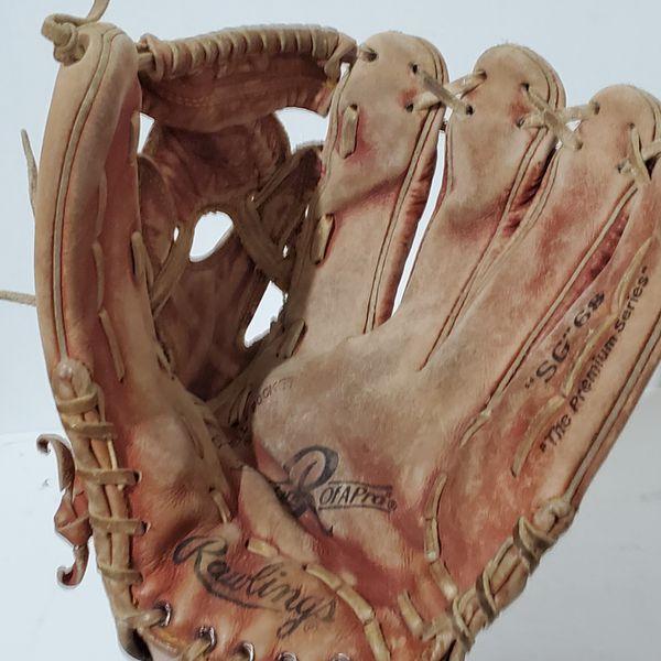 """Rawlings SG-68 Baseball Softball Glove 12.75"""" The Gripper Right Hand Throw"""
