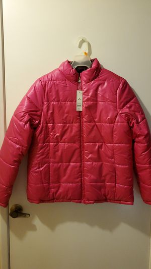 Fuisha Pink Puffy Jacket Size M for Sale in Moreno Valley, CA