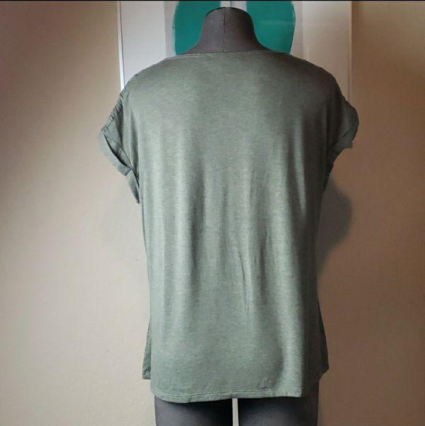 Rose + Olive Short Sleeved Shirt