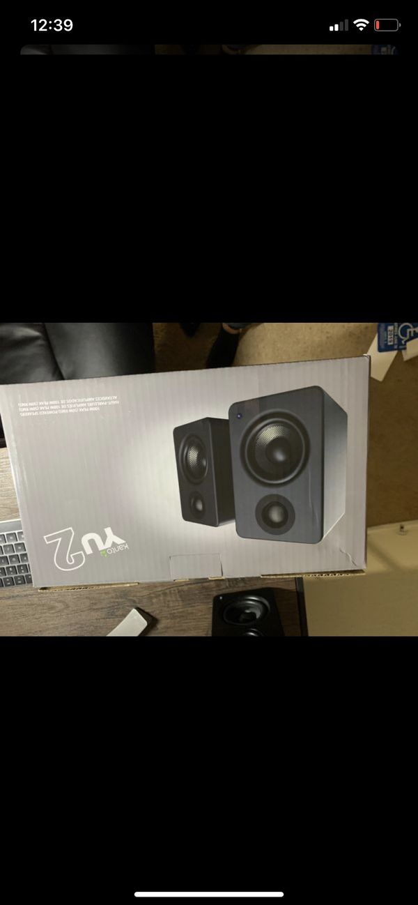 Speakers great condition still in box