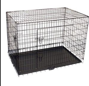 42 inch large dog crate for Sale in Trenton, NJ